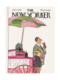 The New Yorker Cover - June 21, 1969 Regular Giclee Print by Charles Saxon