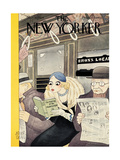 The New Yorker Cover - March 10, 1934 Regular Giclee Print by Abner Dean