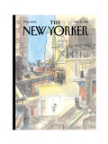 The New Yorker Cover - October 12, 1998 Reproduction procédé giclée par Jean-Jacques Sempé