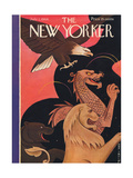 The New Yorker Cover - July 1, 1944 Giclee Print by Rea Irvin