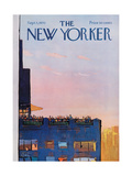 The New Yorker Cover - September 5, 1970 Regular Giclee Print by Arthur Getz