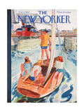 The New Yorker Cover - August 7, 1954 Giclee Print by Garrett Price