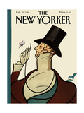 The New Yorker Cover - February 25, 1985 Regular Giclee Print by Rea Irvin