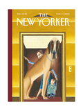The New Yorker Cover - March 10, 2003 Reproduction procédé giclée par Mark Ulriksen