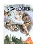 The New Yorker Cover - October 13, 1997 Regular Giclee Print by Edward Sorel