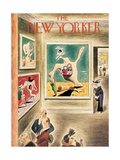 The New Yorker Cover - January 9, 1937 Regular Giclee Print by Richard Taylor