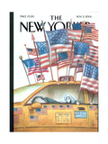 The New Yorker Cover - November 5, 2001 Regular Giclee Print by Carter Goodrich