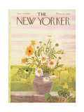 The New Yorker Cover - June 28, 1969 Giclee Print by Ilonka Karasz