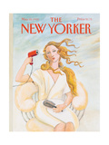The New Yorker Cover - May 25, 1992 Regular Giclee Print by Susan Davis