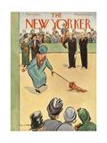 The New Yorker Cover - February 8, 1936 Regular Giclee Print by Helen E. Hokinson