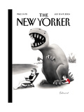 The New Yorker Cover - July 12, 2004 Regular Giclee Print by Ian Falconer