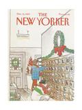 The New Yorker Cover - December 12, 1983 Regular Giclee Print by Arthur Getz