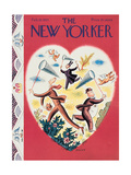 The New Yorker Cover - February 10, 1934 Giclee Print by Harry Brown