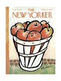 The New Yorker Cover - September 30, 1967 Giclee Print by Abe Birnbaum