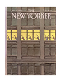 The New Yorker Cover - March 21, 1983 Giclee Print by Roxie Munro