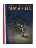 The New Yorker Cover - June 30, 1934 Regular Giclee Print by William Steig