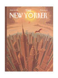 The New Yorker Cover - June 12, 1995 Regular Giclee Print by Eric Drooker