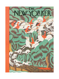 The New Yorker Cover - November 7, 1931 Giclee Print by Margaret Schloeman