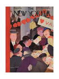The New Yorker Cover - February 9, 1935 Regular Giclee Print by William Cotton