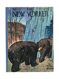 The New Yorker Cover - December 6, 1947 Regular Giclee Print by Peter Arno