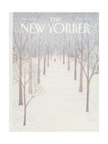 The New Yorker Cover - January 26, 1981 Giclee Print by Charles E. Martin