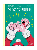 The New Yorker Cover - December 26, 1994 Regular Giclee Print by Bob Zoell (HA)