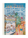 The New Yorker Cover - July 3, 1948 Giclee Print by Ludwig Bemelmans