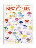The New Yorker Cover - August 24, 1987 Giclee Print by Susan Davis