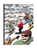 The New Yorker Cover - January 25, 1999 Regular Giclee Print by Ian Falconer