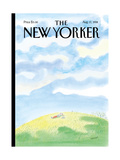 The New Yorker Cover - August 17, 1998 Reproduction proc&#233;d&#233; gicl&#233;e par Jean-Jacques Semp&#233;