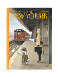 The New Yorker Cover - April 13, 1998 Reproduction procédé giclée par Harry Bliss