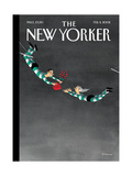 The New Yorker Cover - February 11, 2002 Regular Giclee Print by Ian Falconer