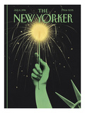 The New Yorker Cover - July 8, 1996 Giclee Print by Ian Falconer