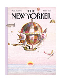 The New Yorker Cover - March 31, 1986 Regular Giclee Print by Andrej Czeczot