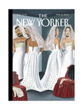 The New Yorker Cover - March 15, 2004 Giclee Print by Mark Ulriksen