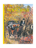The New Yorker Cover - October 5, 1992 Regular Giclee Print by Edward Sorel