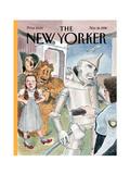 The New Yorker Cover - November 16, 1998 Regular Giclee Print by Barry Blitt
