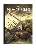 The New Yorker Cover - February 10, 2003 Regular Giclee Print by Carter Goodrich