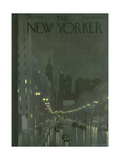 The New Yorker Cover - October 29, 1932 Giclee Print by Adolph K. Kronengold