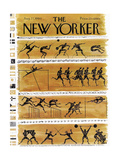 The New Yorker Cover - August 27, 1960 Premium Giclee Print by Anatol Kovarsky
