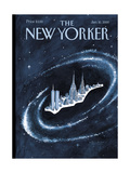 The New Yorker Cover - January 10, 2000 Giclee Print by Mark Ulriksen