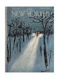 The New Yorker Cover - January 11, 1958 Giclee Print by Abe Birnbaum