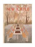 The New Yorker Cover - September 29, 1975 Regular Giclee Print by Charles E. Martin