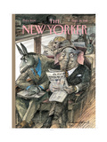 The New Yorker Cover - September 28, 1998 Giclee Print by Edward Sorel