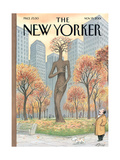 The New Yorker Cover - November 19, 2001 Regular Giclee Print by Harry Bliss