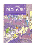 The New Yorker Cover - August 3, 1992 Regular Giclee Print by Devera Ehrenberg
