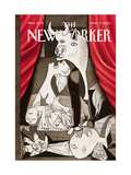 The New Yorker Cover - March 17, 2003 Regular Giclee Print by Harry Bliss