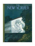 The New Yorker Cover - June 19, 1954 Lámina giclée por Arthur Getz