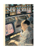 The New Yorker Cover - March 26, 2001 Regular Giclee Print by Edward Sorel
