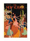 The New Yorker Cover - September 20, 1930 Regular Giclee Print par Theodore G. Haupt